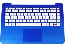 New HP Stream 13-C Palmrest Touchpad Cover UK QWERTY Keyboard 830646-031