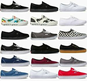 Vans Authentic /Era Low Top Classic Skate Sneakers Canvas Shoes. Multiple Sizes