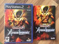 PS2:    SAMURAI WARRIORS 2 XTREME LEGENDE      PAL