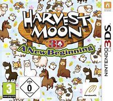 Nintendo 3DS Jeu Harvest Moon 3D A New Beginning & Expédition de colis