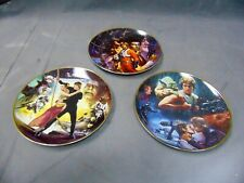 Lot Of 3 Hamilton Collection Star Wars Trilogy Plate Collection By Morgan.