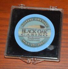 VERY RARE BLACK OAK CASINO INITIAL OPENING TUOLUMNE, CALIFONIA MAY 15, 2001