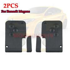 2Pcs for Renault Megane Smart Card 3B 433MHZ PCF7947 Semi-intelligent Remote Key