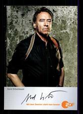 Gerd Silberbauer ZDF Autogrammkarte Original Signiert # BC 65395