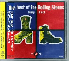 Rolling Stones the Best of The Rolling Stones Jump Back Japan CD w/obi VJCP25155