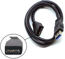USB Cable For External Hard Drive For WD Seagate Toshiba Samsung 3.0 Micro Lead
