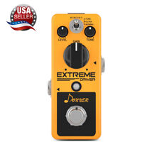 Donner Extreme Driver Effect Pedal ANALOG Distortion Flexible 3 Way Tone USA