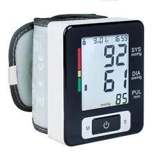 Digital Wrist Blood Pressure Monitor Heart Beat Rate Pulse Meter Measure Machine
