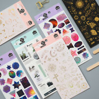 Anime Pflanze Printing Transfer Scratch Sticker DIY Scrapbooking Making Decor