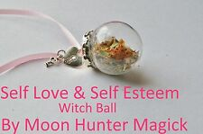 Self Love Self Esteem Confidence Spell Witch Ball Charm Talisman Pagan Wiccan