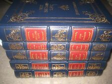 EASTON PRESS  WORKS OF JOHN F KENNEDY & ROBERT KENNEDY 5 Volume Leather Set RARE