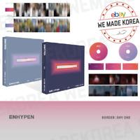 ENHYPEN BORDER: DAY ONE Album Random Ver. CD + Photobook + Photocard + etc