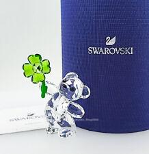 New 100% Swarovski Kris Bear- Lucky Charm Crystal Figurine Display 5557537