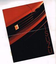 1984 ISUZU Mini-Brochure / Mailer: PuP,TROOPER II 2, Impulse,I-Mark,P'UP Pick Up