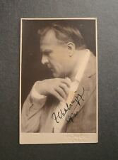 Feodor CHALIAPIN (Opera): Signed Photograph Postcard