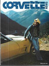 Corvette News June 1977 Colorado 500,000th Grand Sport Corvette 003 Racing