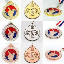 Hapkido Hkd Simbol Medals Awards 3 Colors Korea Hapkido Federation Khf Mma Gifts