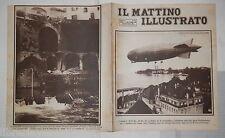 1924 Dirigibile Zeppelin Anatole France Serravalle Scrivia Deragliamento treno