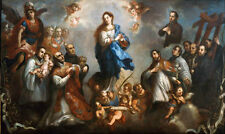 Dream-art Oil painting our mother god of MARY The assumption Saints Hand painted