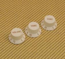 005-9266-PSET Genuine Fender S-1™ Deluxe Stat Knob Set - Parchment