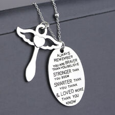 Hot Sale New Necklace Letter Daily Life Birthday Pendant Gift Angel Pendant O3