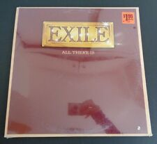 EXILE All There Is SEALED New Vinyl Record 1979 FREE SHIPPING