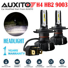 AUXITO H4 9003 LED Headlight Kit Hi/Low Beam Bulb 10000LM Super Bright Lamp B7 A
