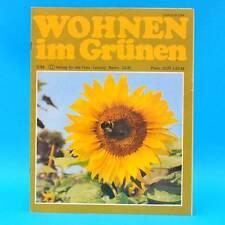 DDR Wohnen im Grünen 2/1984 Verlag für die Frau K Großposna-Oberholz Wernigerode
