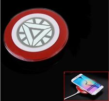 Qi Wireless Charger Charging Pad + Receiver for iPhone 6S/6S Plus 6/6 Plus 5/5S