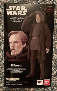 Premium Bandai S.H.Figuarts Star Wars Luke Skywalker THE LAST JEDI Action Figure