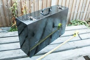 Vintage wooden carpenters / joiners tool box