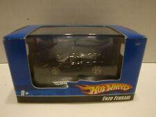 Hot Wheels Enzo Ferrari in Black with 5 Spoke Rims 1:87 Diecast C20-32
