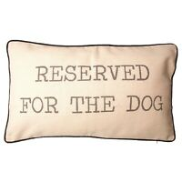 Sass & Belle Reserved for The Dog, Cat Cushion Cover and Inner