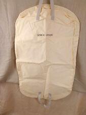 ORIGINALE Giorgio Armani Indumento Suit polvere sacchetto copertura Storage Suit Vestito Carrier