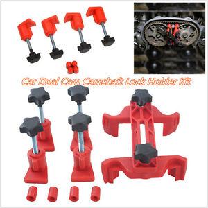 5 Pcs/Set Portable Car Vehicle Dual Cam Master Camshaft Timing Locking Tool Kit