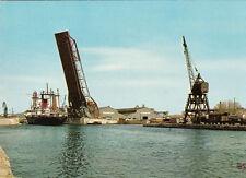 SETE  pont mobile pour le passage d'un bateau