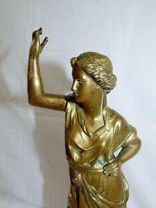 Ancienne Statuette en Bronze Personnage à l'Antique
