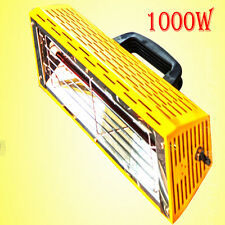 1000WPortable Spray/Baking booth Infrared Paint Curing Lamp Heating Light Heater
