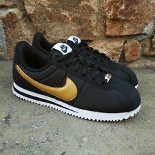 Nike Cortez Basic Nylon Wmns Black Gold AA3047-001 - Nike - AA3047-001