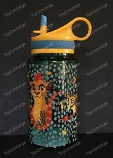 DISNEY Store WATER Bottle 2017 THE LION GUARD Plastic Drink 16 oz NEW