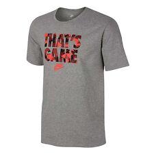 Ropa de hombre grises Nike talla M
