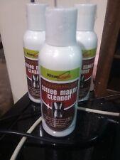 KLEAN LOGIK COFFEE MAKER CLEANER NEW SEALED 4 FL OZ BOTTLE (3 Pack)