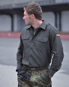 BW Feldhemd Bundeswehrhemd oliv Original