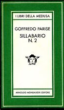 PARISE Goffredo - Sillabario n.2