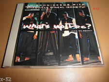 FU-SCHNICKENs SHAQ FU shaquille O'neal SINGLE cd WHAT'S UP DOC can we rock 6 tra