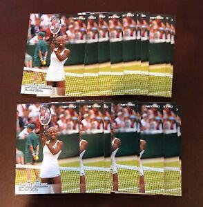 (20) 2003 Netpro Serena Williams RC ROOKIE LOT #100 SHORT PRINT SP RARE