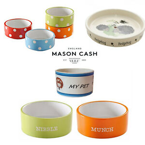 Mason Cash Ceramic Small Animal Feeding Bowls Shallow Food Water Hedgehog
