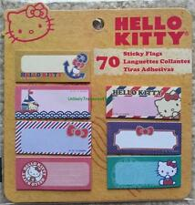 Hello Kitty Sticky Flags - 70 Sticky Flags
