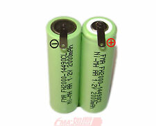 Ni-MH 2.4V 2000mAh Waterpik Water flosser Battery for GP130AAHE2B1H 2SBT US/RU