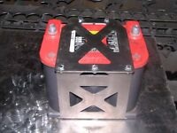 Optima 75/35 Battery box mount yellow red top tray offroad rock crawler